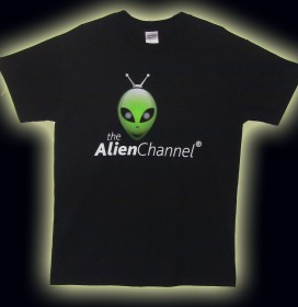 The Alien Channel T-shirt is Turning Heads Across the Planet!